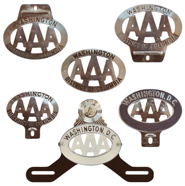 View topic triple a badge display for Aaa motor club locations