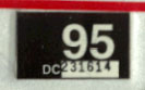 1994 (expires 1995) sticker, white on black